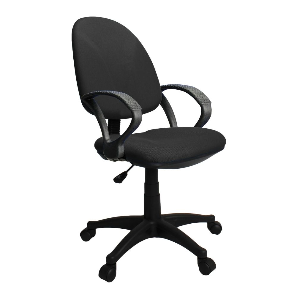Java 100 Entry Level High Backrest Operator Chair. Hoop Arms. Choice of Fabric